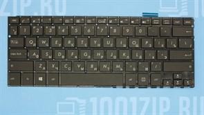 Клавиатура для ASUS Asus ZenBook UX360, UX360C, UX360CA, UX360CAK, черная, без рамки